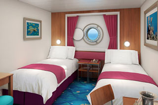 Oceanview cabin on Norwegian Dawn