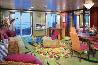 Suite cabin on Pride of America