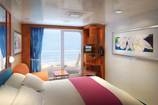 Family Balcony Stateroom on Pride of America
