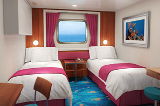 Mid-Ship Oceanview Porthole Window Stateroom on Norwegian Pearl