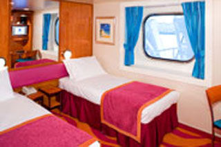 Oceanview cabin on Norwegian Gem