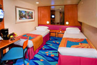 Inside Stateroom on Norwegian Jade