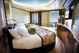 Suite cabin on Norwegian Epic