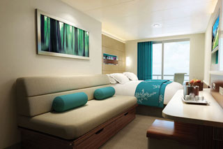 Balcony cabin on Norwegian Getaway