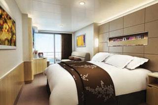 Suite cabin on Norwegian Getaway