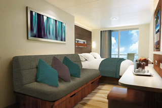 Balcony cabin on Norwegian Escape