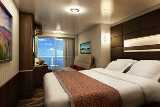 Aft-Facing Mini-Suite with Balcony on Norwegian Escape