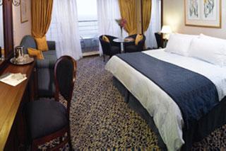 Suite cabin on Regatta