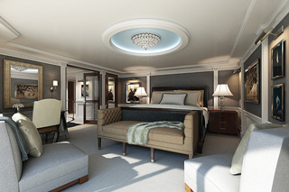 Suite cabin on Marina
