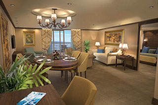 Suite cabin on Riviera