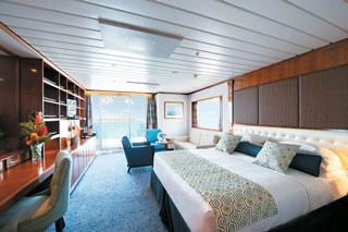 Suite cabin on Paul Gauguin