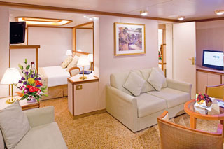 Family Suite Interconnecting Staterooms on Golden Princess