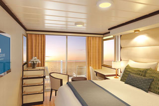 Balcony Stateroom (Obstructed View) on Royal Princess