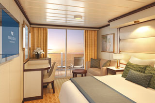Balcony cabin on Regal Princess