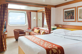 Suite cabin on Seven Seas Navigator