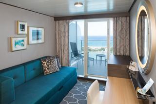 Balcony cabin on Symphony of the Seas