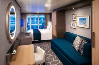 Balcony cabin on Symphony of the Seas
