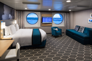 Oceanview cabin on Symphony of the Seas