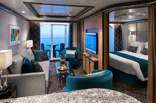 Suite cabin on Symphony of the Seas