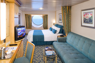 Oceanview cabin on Explorer of the Seas