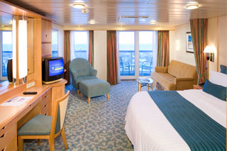 Suite cabin on Explorer of the Seas