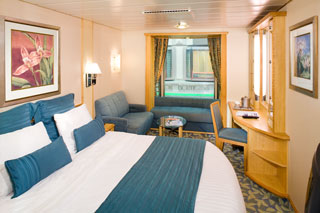 Inside cabin on Explorer of the Seas