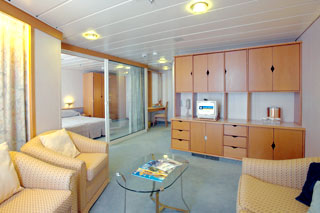 Suite cabin on Enchantment of the Seas