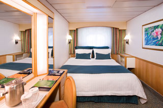 Oceanview cabin on Majesty of the Seas