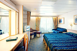 Suite cabin on Majesty of the Seas