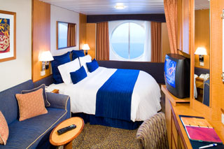 Oceanview cabin on Radiance of the Seas