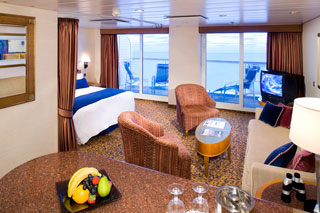 Suite cabin on Radiance of the Seas