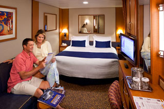 Interior Stateroom on Radiance of the Seas