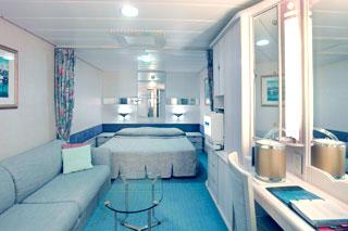 Inside cabin on Rhapsody of the Seas