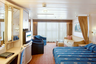 Suite cabin on Rhapsody of the Seas