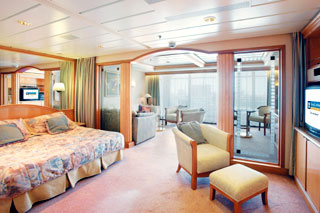 Suite cabin on Rhapsody of the Seas