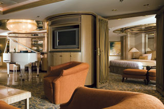 Royal Suite with Balcony on Rhapsody of the Seas