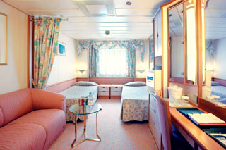 Oceanview cabin on Splendour of the Seas