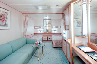 Superior Interior Stateroom on Splendour of the Seas
