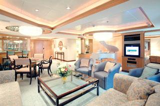Suite cabin on Splendour of the Seas