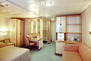 Oceanview cabin on Vision of the Seas