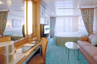 Balcony cabin on Voyager of the Seas