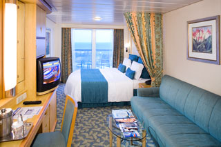 Balcony cabin on Adventure of the Seas