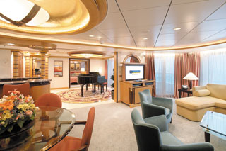 Suite cabin on Adventure of the Seas