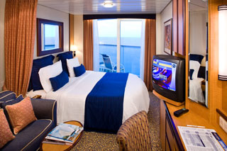 Balcony cabin on Brilliance of the Seas