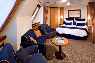 Family Oceanview Stateroom on Brilliance of the Seas