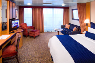 Suite cabin on Brilliance of the Seas
