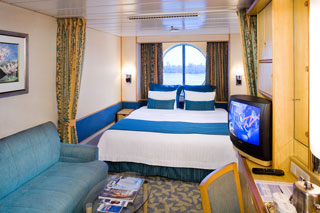 Oceanview cabin on Navigator of the Seas