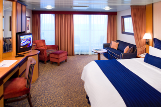 Suite cabin on Serenade of the Seas