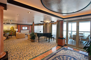 Suite cabin on Mariner of the Seas