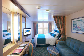 Balcony cabin on Freedom of the Seas